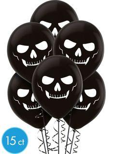 Latex Skeleton Balloons - Party City
