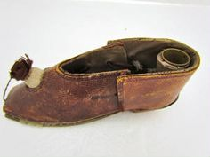 early sewing shoe