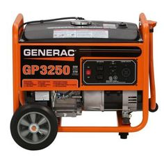 3250watt gasoline powered portable generator portable