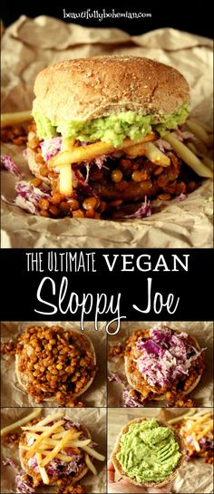 The ULTIMATE Vegan Sloppy Joes!!