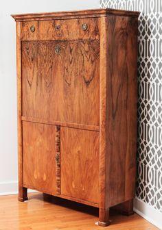art deco szobabútor, szekrény