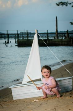 miller at the bay, sailboat beach photoshoot by renner photography
