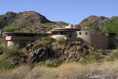 Frank Lloyd Wright Architectural  Lykes Residence (1959)  Phoenix, AZ