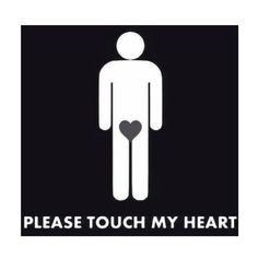 Please touch my HEART