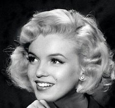 Marilyn Monroe; Very Pretty Looking.