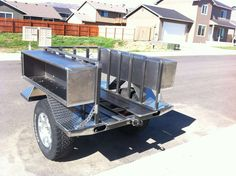 My 2 trailers build - Expedition Portal Super Trailer, Work Trailer, Off Road Camper Trailer, Camper Trailers, Off Road Utility Trailer, Welding Trailer, Kayak Trailer, Trailer Diy, Trailer Build