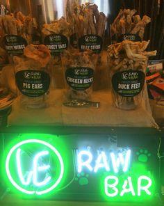 City Dog Market in Atlanta, GA. VE RAW BAR by Vital Essentials.