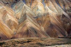 Colorful Mountains of Landmannalaugar, Iceland
