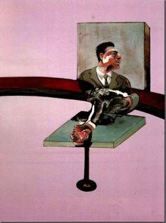 Dyer se suicidó el 24 de octubre de 1971 . Movido por la pérdida , el pintor hizo muchas obras en memoria de Dyer. Desde esa época el tríptico de gran formato sería el vehículo de sus grandes declaraciones: tenía la ventaja de simultáneamente yuxtaponer y aislar a las figuras participantes, frustrando la lectura narrativa que Bacon quería evitar. Sin embargo, Bacon se apoyaría más que nunca en imágenes literarias: , remite a una sección de La tierra baldía de T. S. Eliot (1922).