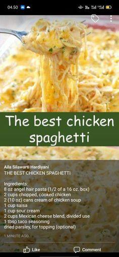 >> THE BEST CHICKEN SPAGHETT1 #chicken #spaghetti - .