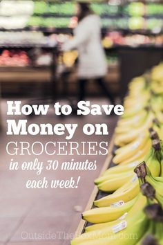 How Can I Save Money on Groceries Without Spending a Lot of Time