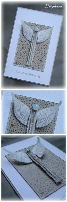Weihnachtskarten ~Flügelwesen~