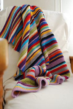 blanket in stripes | Flickr - Photo Sharing!