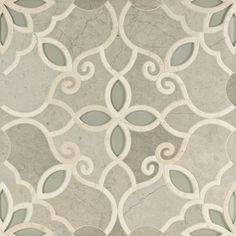 Artistic Tile Waterjet Collection - Granada Smoke