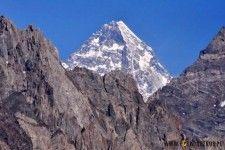 K2 summit in Karakorum, Pakistan.