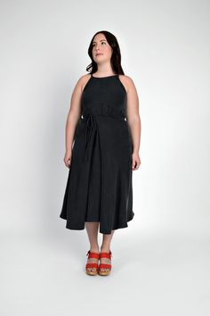 Acton Dress View B by In the Folds