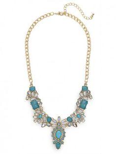 Azure Native Gem Necklace