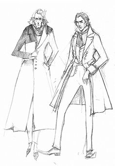 Sweeney Todd Costume Sketch Judge Turpin | Flickr - Photo Sharing!