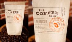 design work life » Student Work: Jake Dugard: The Coffee Co-Op Identity