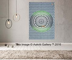 Tapestry single Green Ombre Wall Hanging Art Decor Mandal... https://www.amazon.co.uk/dp/B01JA8GZU6/ref=cm_sw_r_pi_dp_x_rTX5xbXY0RBTQ