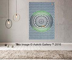 Tapestry single Green Ombre Wall Hanging Art Decor Mandal... https://www.amazon.co.uk/dp/B01JA8GZU6/ref=cm_sw_r_pi_dp_x_rTX5xbXY0RBTQ