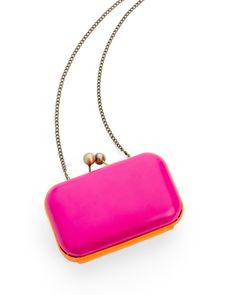 Neon Clutch - Pink/Orange - JewelMint