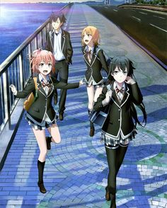 Best Anime Oregairu Or Mirai Nikki ? ❣️ 🔹🔹🔹🔹🔹🔹🔹🔹🔹🔹🔹🔹🔹🔹🔹 Anime Name Manga Girl, Manga Anime, Otaku Anime, Anime Sexy, Anime Girl Cute, Anime Art Girl, Yahari Ore No Seishun, Anime Friendship, Anime Group