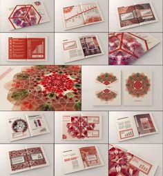 Kaleidoscope :: Annual Report by Dima Tsapko, via Behance