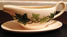 Franciscan Ivy Gravy Boat  Vintage by PoppyseedVintageETC on Etsy