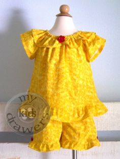 Belle Shorts Set by #MyKidsDrawers will be available on MKD Etsy at 8 PM CST. They will go fast! https://www.etsy.com/shop/mykidsdrawers