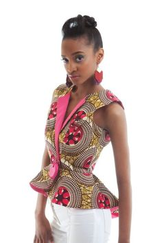 Editalo Designs ~African Prints, African women dresses, African fashion styles…