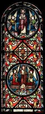 Verrijzenis en hemelvaart van Christus -- by Atelier Frans Nicolas, ca. 1875 -- in Servatius Basiliek, Maastricht, NL