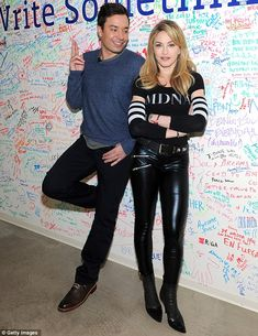 Madonna & Jimmy Fallon