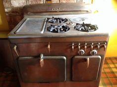 1953 Model 61AC Copper Chambers Stove #Chambers