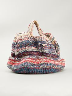 Daniela Gregis Woven Tote in Multicolor (multicolour)