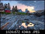 Pemaquid Point Reflection by Bozzzz
