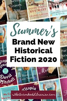 Historical Fiction Reading List 2020: Don't miss some of summer's new and upcoming historical fiction releasing this 2020.  These new 2020 books are sure to appeal to WWII historical fiction lovers, literary fiction lovers, and historical fiction lovers who love traveling through time and spaces. #theuncorkedlibrarian #historicalfiction Best Historical Fiction Books, Literary Fiction, Fiction And Nonfiction, Historical Romance, Reading Lists, Book Lists, Books By Black Authors, Holocaust Books, Game Of Thrones Books