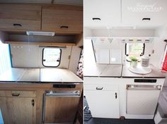 caravan renovation before and after 826340231613058004 - Vor und nach der Renovierung. Sprite Musketeer – … Source by Diy Caravan, Caravan Living, Retro Caravan, Camper Caravan, Rv Living, Caravan Hacks, Caravan Ideas, Caravan Paint, Scamp Camper