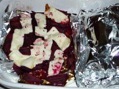 Pečená červená řepa s balkánským sýrem | U Madly nejen v kuchyni