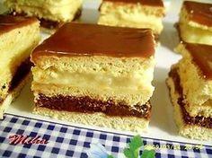 Prăjitura Smântânița   Dulciuri fel de fel Sweets Recipes, Cake Recipes, Cooking Recipes, Hungarian Cake, Romanian Food, Romanian Recipes, Healthy Cookies, Food Cakes, Pinterest Recipes