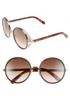 2866027ccd Jimmy Choo.  JimmyChoo · Round Metal SunglassesMirrored ...