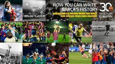 30 Anniversary MuseuFCB #MesQueUnClub #FCBMuseum #FCBarcelona #FansFCB #FCB