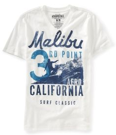Malibu 3rd Point V-Neck Graphic T