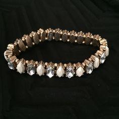 HP!  J. Crew Stretch Bracelet Beautiful J. Crew marquis stretch bracelet.Host Pick Vacation Vibes 5/24/16 J. Crew Jewelry Bracelets