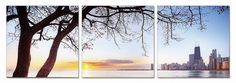 Modrest Evening View 3-Panel Photo On Canvas VGSCSH-71911ABCProduct :16622Features:3 PanelsHorizontal LayoutDimension:Each Panel: W24