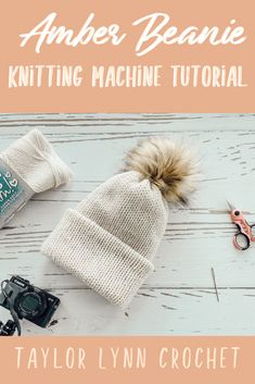 Amber Beanie Knitting Machine Tutorial – Amber Beanie Knitting Machine Tutorial… – Awesome Knitting Ideas and Newest Knitting Models Addi Knitting Machine, Circular Knitting Machine, Knitting Machine Patterns, Loom Knitting, Knitting Stitches, Crochet Patterns, Free Knitting, Vogue Knitting, Stitch Patterns