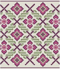Another Band reunion... You will receive all 5 bands/border patterns. Pull out single motifs, or stitch as they are on tablecloth edges, pillowcases,