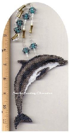 Dolphin Wave Necklace ID 4607