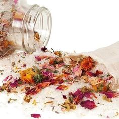 Bath salts for easing headaches, PMS, menopause symptoms and depression