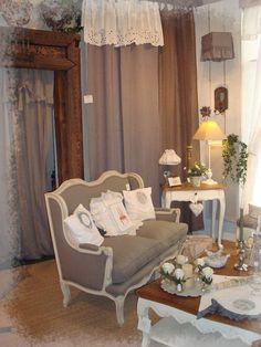 Plus · Upholstered FurnitureShabby Chic DecorLong IslandCosySalonsDining  RoomsArt ...